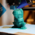 Low-Poly Totodile print image