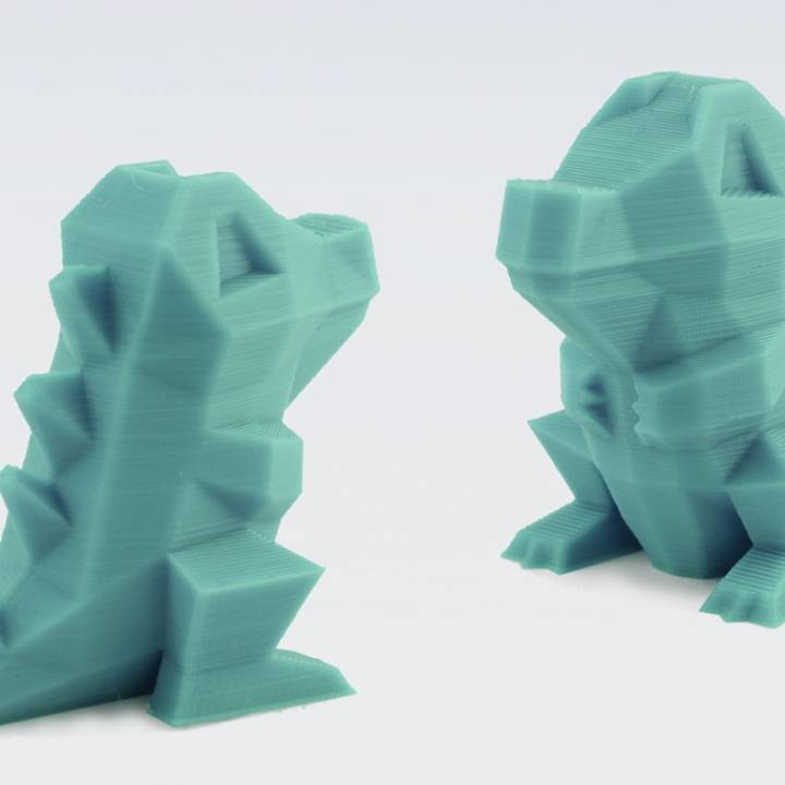Low-Poly Totodile