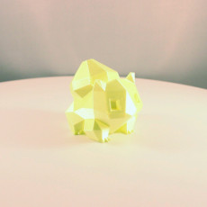 Picture of print of Low-Poly Bulbasaur