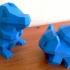 Low-Poly Bulbasaur print image