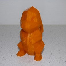 Picture of print of Low-Poly Charmander