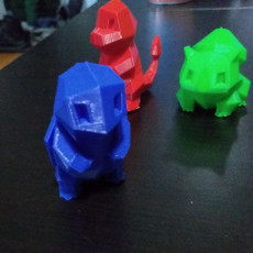 Picture of print of Low-Poly Squirtle