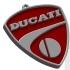 Ducati logo keychain image