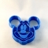 Mickey mouse cookie cutter image