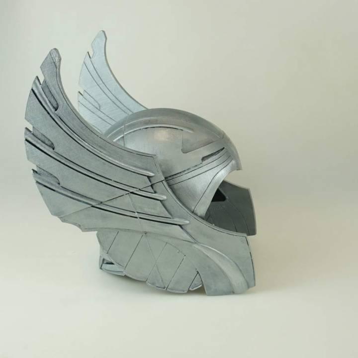 Thor's Helmet 3D model