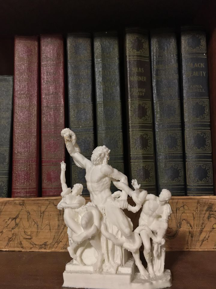 3D Printable The Laocoön Group at The Vatican Museums