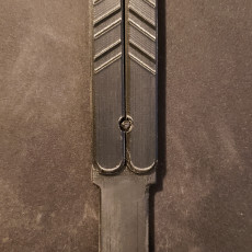 Picture of print of Print in place, Practice Balisong