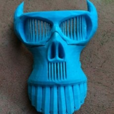 Evil Skull Mask