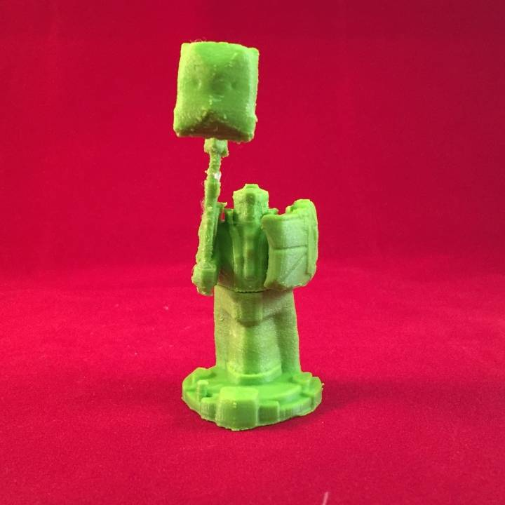 3D Printable League of Legends Blue Tower by Nickey's Hatchery