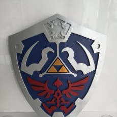 Picture of print of Link's Hylian Shield