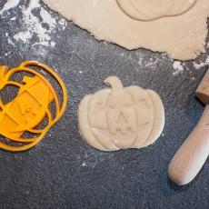 Picture of print of Halloween Pumpkin cookie cutter