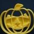 Halloween Pumpkin cookie cutter image