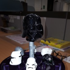 Picture of print of storm trooper through the ages