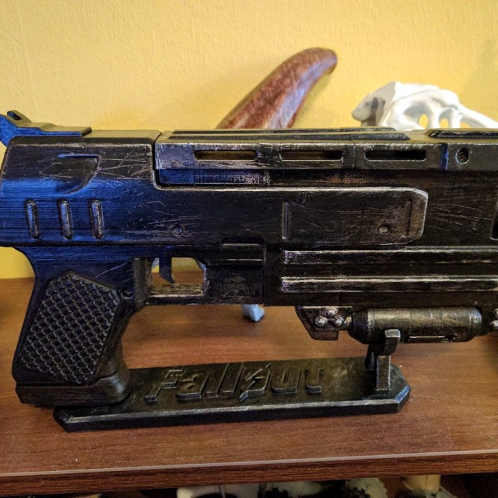 Picture of print of Fallout 3 - 10mm Pistol This print has been uploaded by Jukka Seppänen