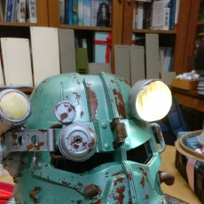 Picture of print of Fallout 3 - T45-d Power Armour Helmet