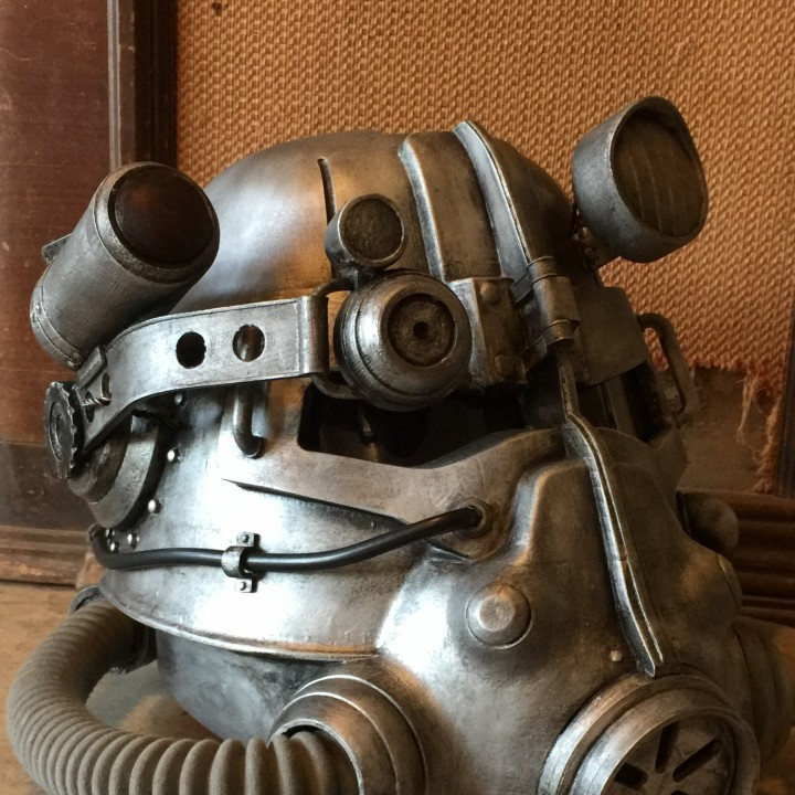Picture of print of Fallout 3 - T45-d Power Armour Helmet This print has been uploaded by Steven B.