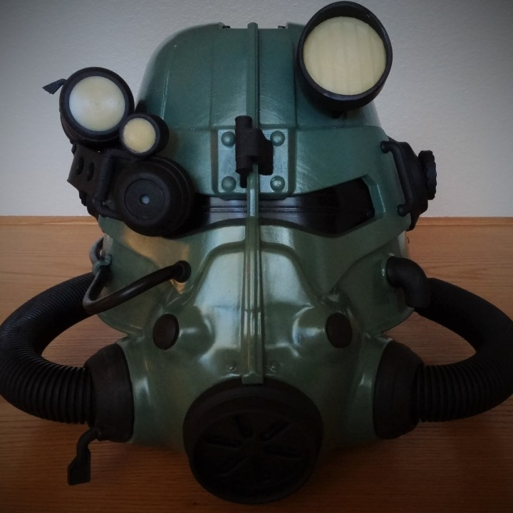 Picture of print of Fallout 3 - T45-d Power Armour Helmet This print has been uploaded by Rich P.