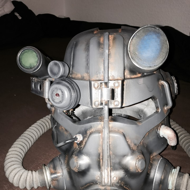 Picture of print of Fallout 3 - T45-d Power Armour Helmet This print has been uploaded by Maximilian Kiereck