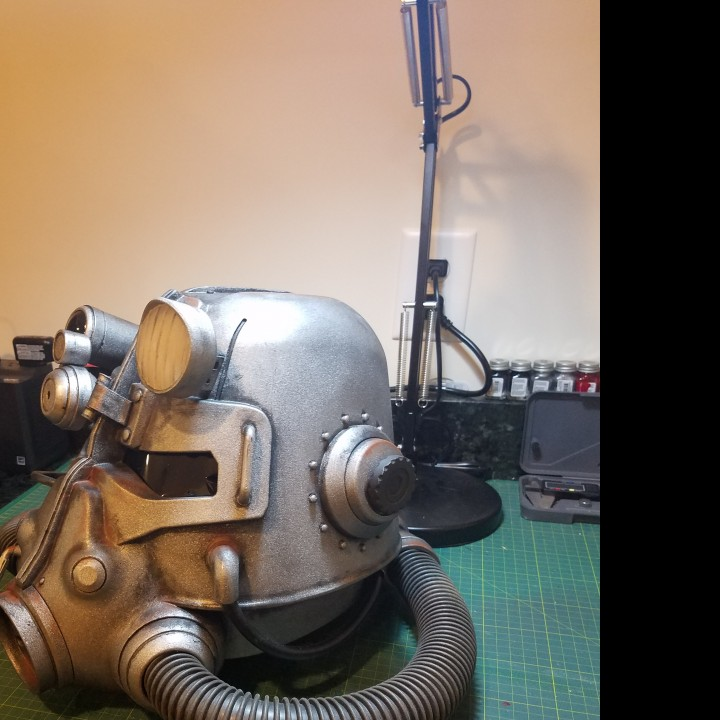 Picture of print of Fallout 3 - T45-d Power Armour Helmet This print has been uploaded by Kevin Kinyon