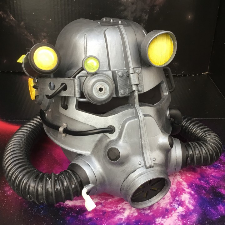 Fallout 3 - T45-d Power Armour Helmet