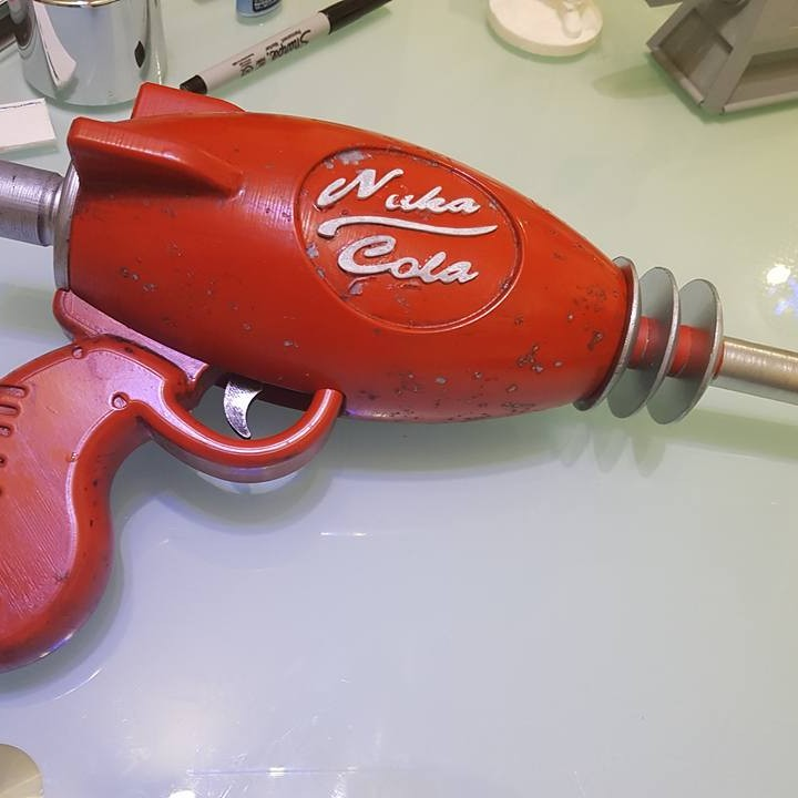Picture of print of Fallout 4 - Nuka Cola Pistol This print has been uploaded by Alan Williams