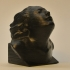 Bust of Eleonora Duse at The Gallery of Modern Art of the Palazzo Pitti in Florence, Italy print image