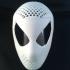 spiderman / venom faceshell mask image
