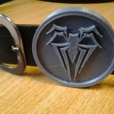 Spider-man Belt buckle MK.2