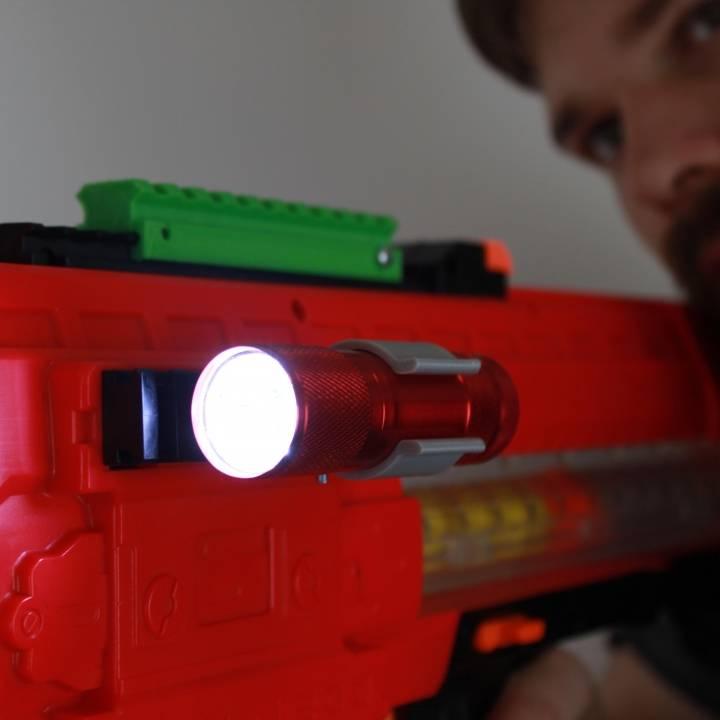 Nerf Rivals Flash light holder