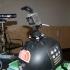 Dumping mount for helmet - GoPro image