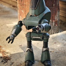 Picture of print of Fallout 4 - Protectron Action Figure This print has been uploaded by Tom Graphite