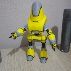 Picture of print of Fallout 4 - Protectron Action Figure This print has been uploaded by Max