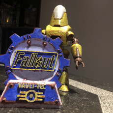 Picture of print of Fallout 4 - Protectron Action Figure This print has been uploaded by Nicolas Belin