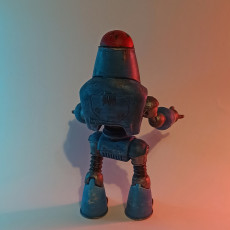 Picture of print of Fallout 4 - Protectron Action Figure This print has been uploaded by Nikita