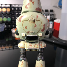 Picture of print of Fallout 4 - Protectron Action Figure This print has been uploaded by buster2006