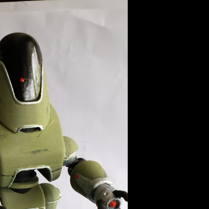 Picture of print of Fallout 4 - Protectron Action Figure This print has been uploaded by Dominic Laube