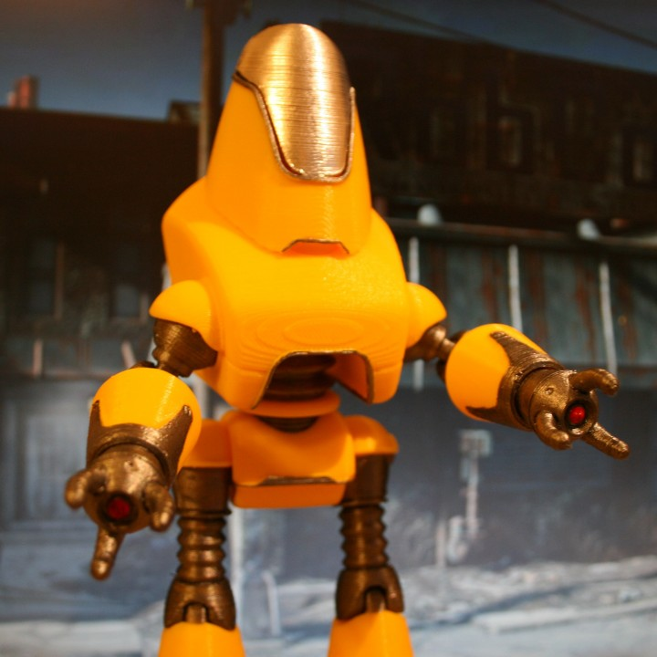 Picture of print of Fallout 4 - Protectron Action Figure This print has been uploaded by Alexander