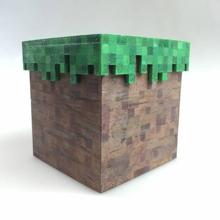 3d Printable Minecraft Box By Simone Fontana