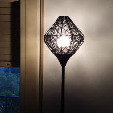 Picture of print of PARIS lamp