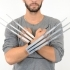 Telescopic Wolverine Claws in Single print image