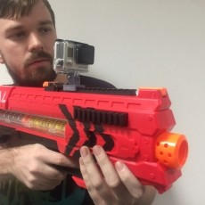 Nerf Rivals Go Pro Mount for top rails