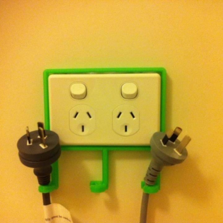 Power Point Cord & Socket Organiser (Australia, New Zealand, Fiji, Tonga, Solomon Islands, and Papua New Guinea sockets)