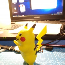 Picture of print of Pikachu!