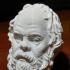 Socrates at The Louvre, Paris print image