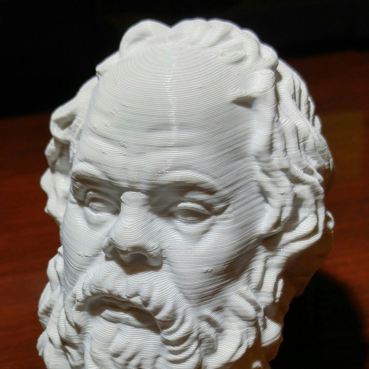 Picture of print of Socrates at The Louvre, Paris This print has been uploaded by Larry Caltagirone