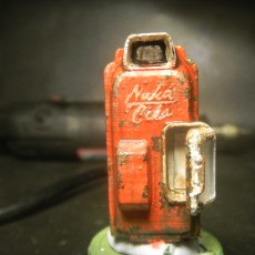 Picture of print of Fallout 4 - Nuka Cola Vending Machine!