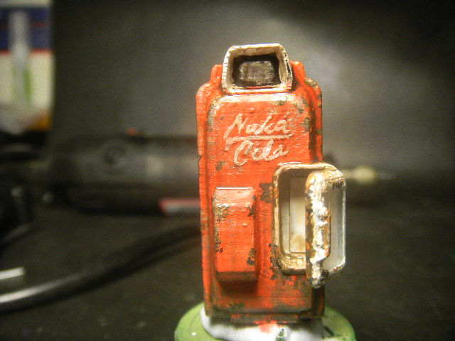 3d printable fallout 4 nuka cola vending machine by aaron phull
