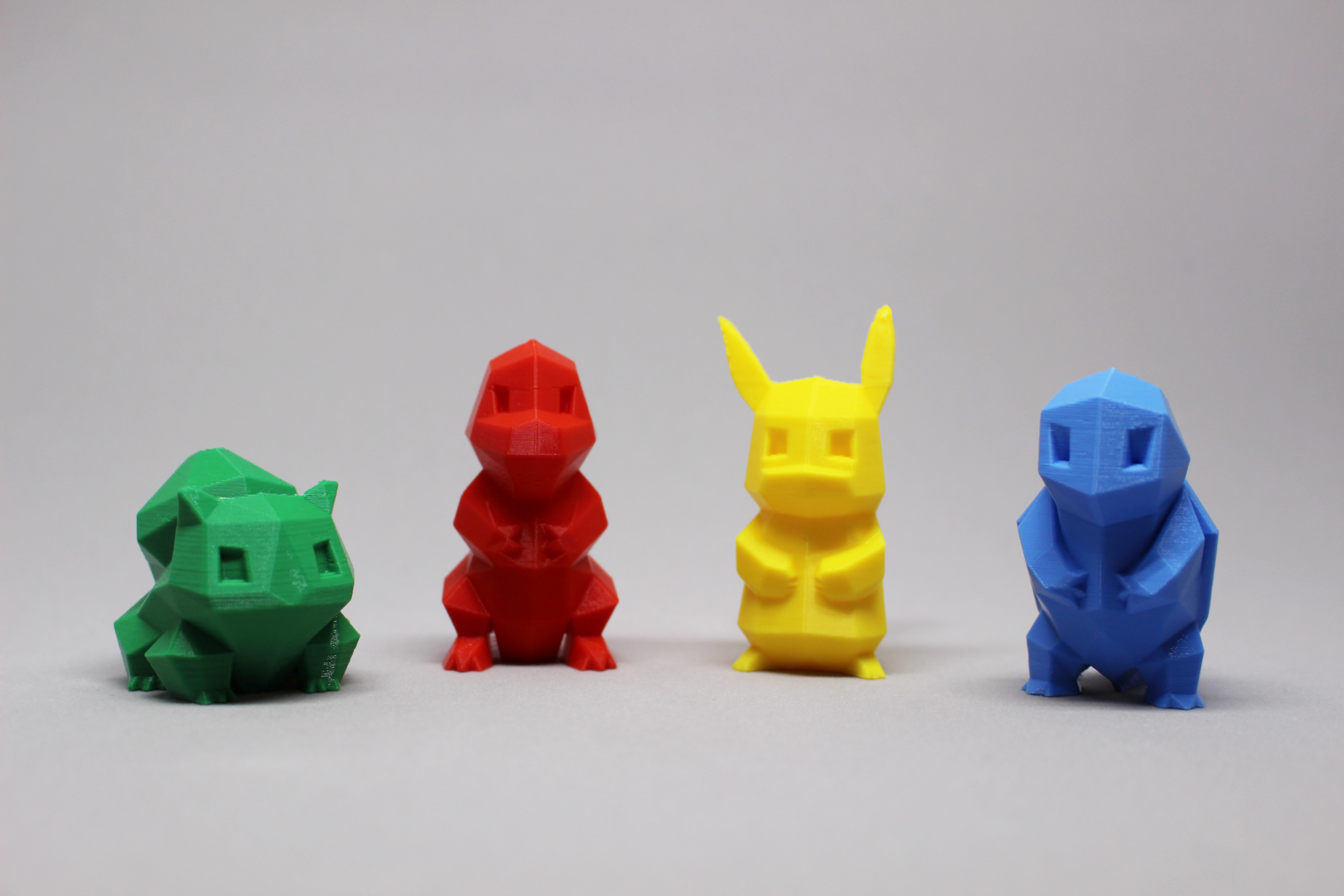 3D Printable Low - Poly Pokemon Collection by Agustin Flowalistik