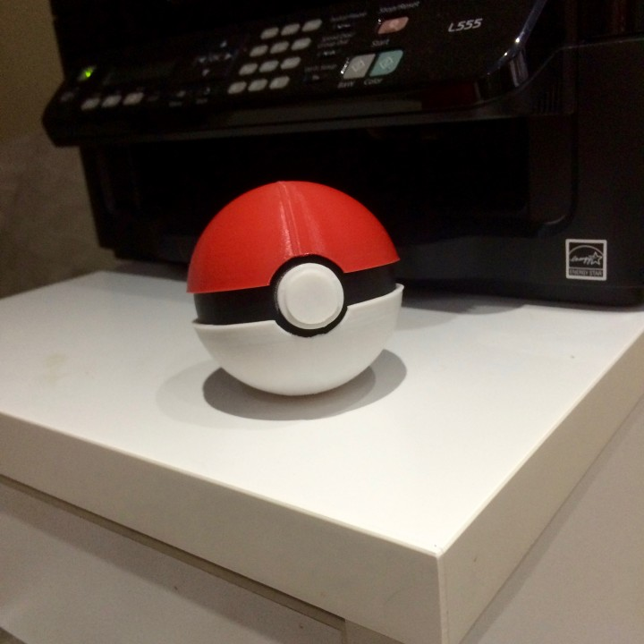 Picture of print of Print by colours Pokeball This print has been uploaded by Booze Kashi