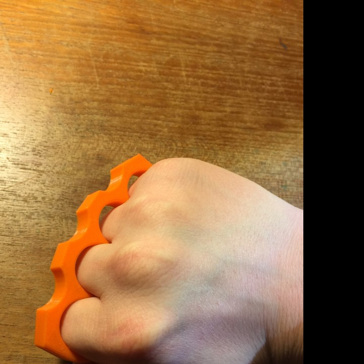 Picture of print of Knuckle Duster This print has been uploaded by Josh